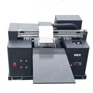 A4 size LY A42 ໂທລະສັບແບບອັດຕະໂນມັດດິຈິຕອນ UV ນໍາເຄື່ອງພິມແປ້ນພິມ UV ແບບແປ້ນພິມທີ່ມີການພິມ 6 ສີ WER-E1080UV