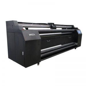 WER-E1802T 1.8m ໂດຍກົງກັບເຄື່ອງພິມແຜ່ນແພທີ່ມີເຄື່ອງພິມລຶກ sublimation 2 * DX5
