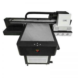 ດິຈິຕອນ UV flatbed inkjet ເຄື່ອງພິມເອກະສານແບບພິມໂດຍກົງ DTG printer WER-ED6090T