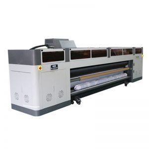 ຄວາມລະອຽດສູງຄວາມໄວສູງເຄື່ອງພິມ inkjet ດິຈິຕອນເຄື່ອງຈັກທີ່ມີ ricoh gen5 ຫົວພິມຫົວ UV WER-G-3200UV